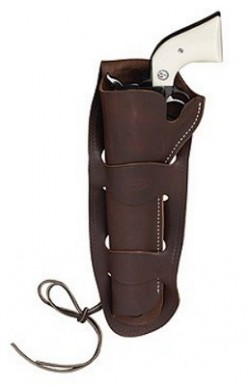 Hunter Company Western Double-Loop Holster Right-Hand