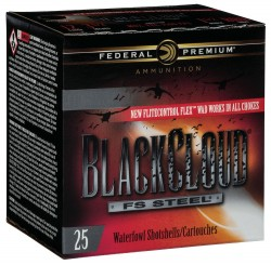 Federal Black Cloud FS Steel Close Range Shotshells 12ga.  3
