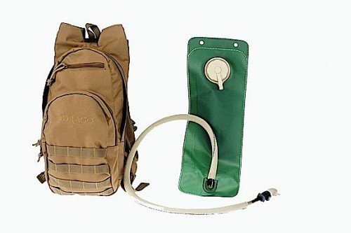 Drago Gear Hydration Pack, Tan, DRA11301TN