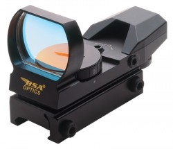 BSA Optics PMR Reflex Sight Multi Reticle Black