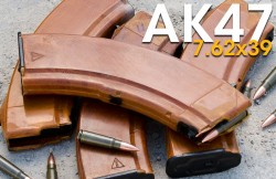 Caa Ak Magazine With Window Black 7.62 X 39 30Rds