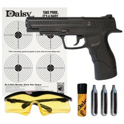 Daisy® Powerline 415 Semiautomatic CO₂ Pistol Kit - Air Gun And Accessories at Academy Sports