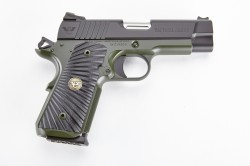 Wilson Combat Tactical Carry, Compact, 9mm, Black/Green