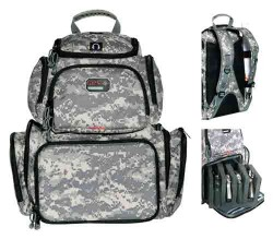 GPS Wild About Hunting Handgunner Free-Standing Backpack, Digital Camo GPS-1711BPDC