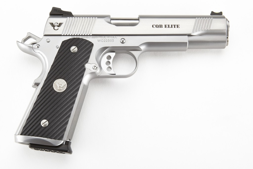 Wilson Combat CQB Elite, Full-Size, 9mm, Stainless Steel