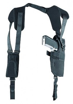 Uncle Mikes 8503-1 S V Shoulder Holster 3 Black