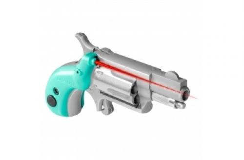 LaserLyte V-Mini Grip Red Laser Sight for NAA .22LR/.22S, Tactical Teal, NAA-PPT