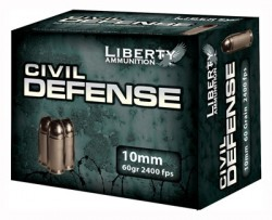 Liberty Ammunition 10MM 60GR 20CT/BOX