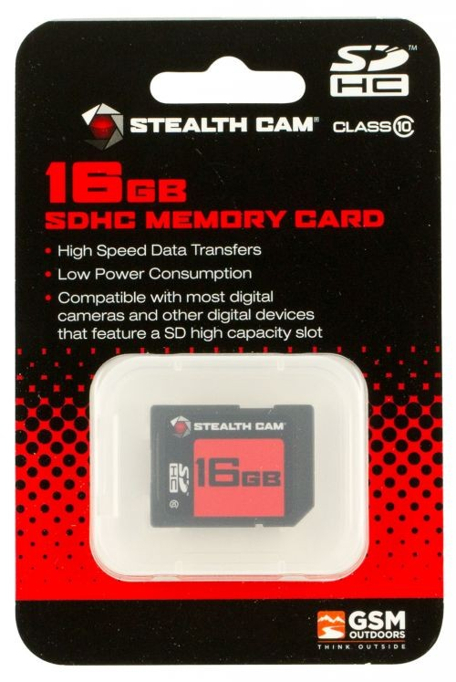 Stealth Cam Hunting Camera STC-16GB 16GB SD Single