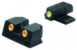 Meprolight Night Sights, Green/Orange #6 Front/Rear - Sig .40 & .45 ACP P