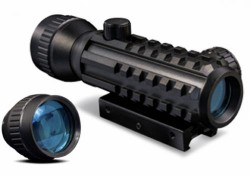 Konus SIGHT-PRO DUAL 1-2x30 Tactical Red Dot Sight,4 MOA,Black 7377
