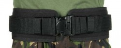 Blackhawk! Belt Pad Small (28 inch -34-inch ) Black
