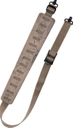 Quake Claw Rifle Sling Dual Q.r. Swivels Sand Camo