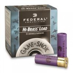 "Federal Classic, Hi-Brass, 16 Gauge, 2 3/4"" 1 1/8 oz. Shotshells, 25 Rounds"