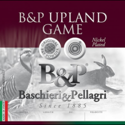 B&P Upland Game Shotshells- 12 ga 2-3/4 In 1-1/2 oz #4 1325 fps 25/ct