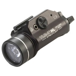 Streamlight TLR-1 HL Flashlight, 800 Lumens w/Lithium Batteries, Black - 69260