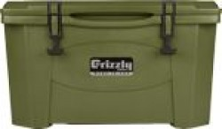 Grizzly Coolers Grizzly G40 Od Green/OD Green 40qt Cooler IRP9080OD