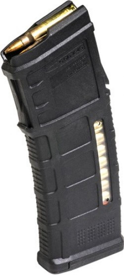 Magpul PMAG teyr AUG / F88 / F90 M3 w/ Window Black 5.56 / .223 Rem 30Rds
