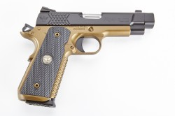 Wilson Combat X-Tac Elite Carry Comp, Professional, 9mm, Black/Burnt Bronze