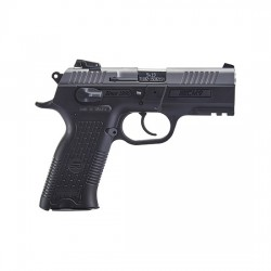 "SAR Arms CM9 9mm Luger Semi Auto Pistol 3.8"" Barrel 17 Rounds Magazine Adjustable 3 Dot Sights Ambidextrous Controls Picatinny Rail Two Tone CM9ST"