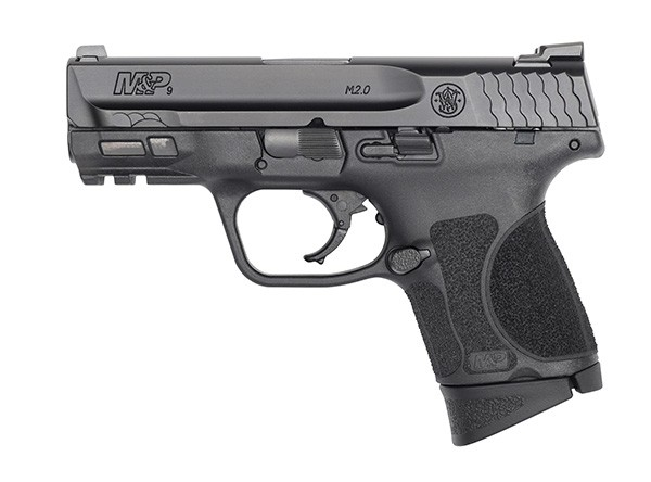 "S&W M&P 2.0 9MM 3.6"" 12RD BLK NMS"