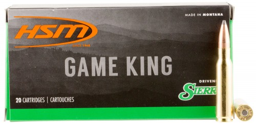 HSM 30841N Game King 308 Winchester/7.62 NATO 150 GR SBT 20 Bx/ 25 Cs