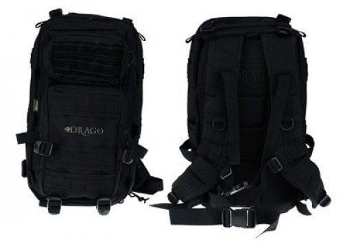 Drago Gear Tracker Backpack, Black, DRA14301BL