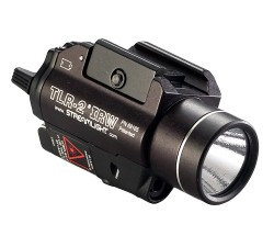 Streamlight TLR-2 IRW Visible White LED and Class I IR Laser w/ Rail Locating Keys For Glock, 1913 Picatinny,SW99/TSW,Beretta 90two and Lithium Batteries, Box 69165