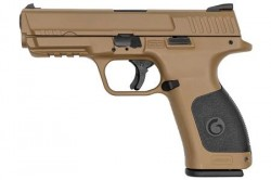 "EAA Girsan MC28SA 9mm Luger Semi Auto Pistol 4.25"" Barrel 15 Rounds FDE Polymer Frame FDE Finish"