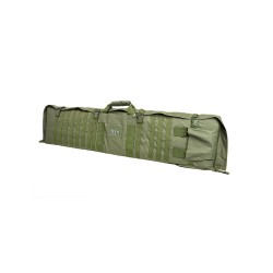 VISM 48in Soft Rifle Case/Shooting Mat w/ PALS Webbing - Green CVSM2913G