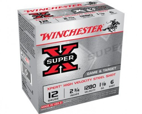 Winchester Super-X Xpert Hi-Velocity Game and Target Steel Shotshells