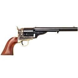 "Cimarron 1872 Open Top Navy Single Action Revolver .45 Long Colt 7.5"" Barrel 6 Rounds Fixed Sights Case Hardened Frame One piece Walnut Grip CA922"