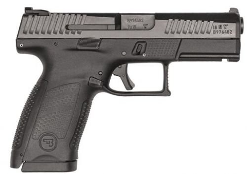 CZ-USA P-10 Compact Black 9mm 4-inch 15rd