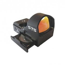 C-MORE STS2 Red Dot Sight, Black, 3 MOA, STS2B-3