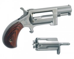 North American Arms Sidewinder Revolver Stainless .22 Magnum /Long Rifle  1.5-inch 5rd