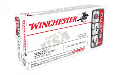 WINCHESTER AMMO 350 Legend 145 gr FMJ USA 20/Box