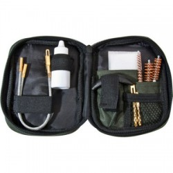 Barska Pistol Cleaning Kit, Flexible Rod & Pouch