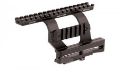 Leapers Quick-detachable AK Side Mount Black