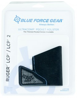 Blue Force Gear ULTRAcomp Pocket Holster for Ruger LCP/LCP II M-HOLSTER-LCP-01-BK