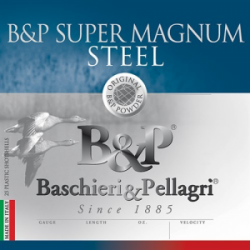 B&P Magnum Steel Shotshells- 12 ga 3-1/2 In 1-1/2 oz #3 1450 fps 25/ct