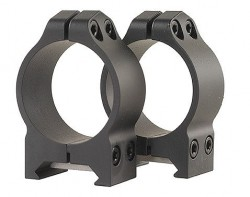 Warne Scope Mounts 214M 30M Rings Medium Mat