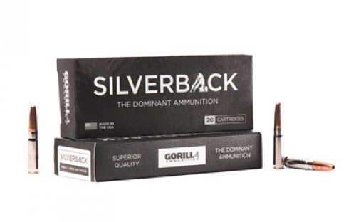 Gorilla SB300205SD Sliverback 300 AAC Blackout/Whisper (7.62X35mm) 205 GR Solid Copper