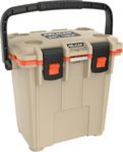 Pelican PELICAN COOLERS IM 20 QUART ELITE TAN/ORANGE LEG CUT OUT