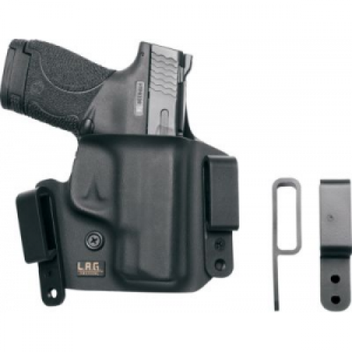 LAG Tactical Defender Holsters, Fits S&W M&P Compact 9/40, Right Hand, Black 4001