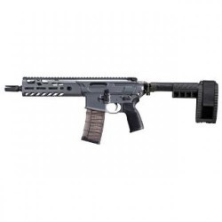 Sig Sauer MCX Virtus Pistol Gray .300 AAC Blackout 9-inch 30Rds Folding Arm Brace