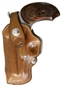 "Bond Arms BOND ARMS BELT LOOP HOLSTER LH 4.25"" BBL. MODELS LEATHER TAN"