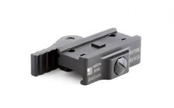 American Defense Manufacturing Aimpoint T1 Micro Mount Low, Standard Lever, Black, AD-T1-L STD