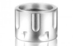 BACKUP THREAD PROTECTOR 1/2X28 CYLINDER SILVER