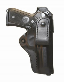 BLACKHAWK! Inside-the-Pants Leather Concealment Holster Right Hand - Black