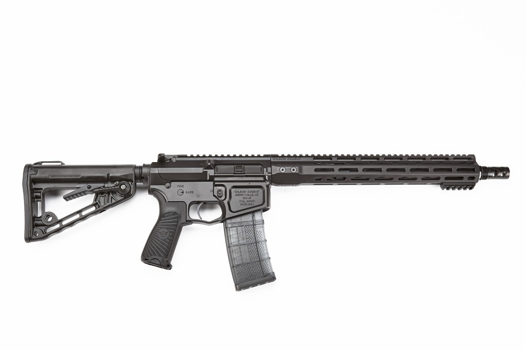 "Wilson Combat Super Sniper Rifle, .223 Wylde, 20"" Barrel, Fluted, Black"